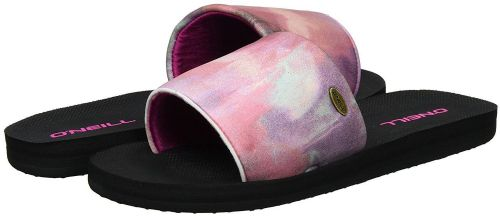 O'NEILL WOMENS SLIDERS.NEW SLIP ON POOL SLIDE NEOPRENE BEACH SANDALS 7S/523/4956